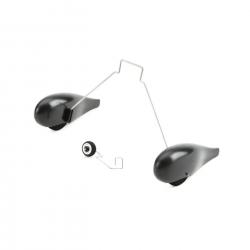 E-flite Fahrwerksset m. Radschuhen, grau: UMX P3 Revolution Horizon EFLU5054