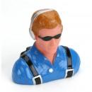 1/6 Pilot - Civilian, Headset & Sunglasses Horizon HAN9114