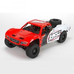 Baja Rey: 1/10-Scale AVC RTR 4WD Desert Truck(Red) Horizon LOS03008T1