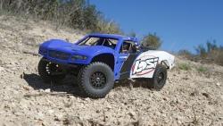 Baja Rey:1/10-Scale AVC RTR 4WD Desert Truck(Blue) Horizon LOS03008T2