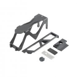 Battery Tray,Door, Lock, 2S Spacer: Baja Rey Horizon LOS231006