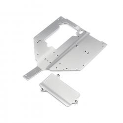 Chassis Plate & Motor Cover Plate: Baja Rey Horizon LOS231010
