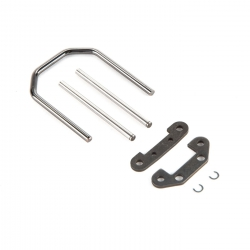Front Hinge Pins & Brace Set: Baja Rey Horizon LOS234007