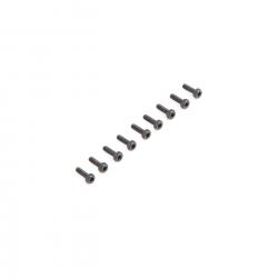 Cap Head Screws, M2 x 6mm (10) Horizon LOS235001