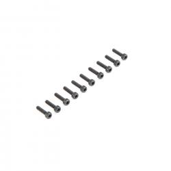 Cap Head Screws M2.5 x 10mm (10) Horizon LOS235002