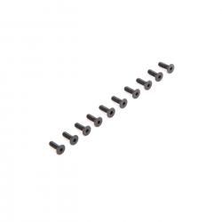 Flat Head Screws M2.5 x 8mm (10) Horizon LOS235009