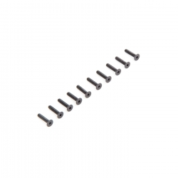 Flat Head Screws M2.5 x 12mm (10) Horizon LOS235010