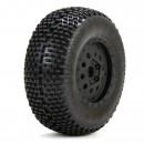 Losi XXX-SCT: Eclipse Reifen auf Felge Front (2) Horizon LOS43004