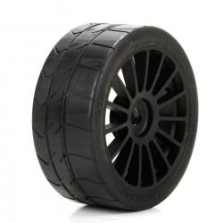 Losi Reifen auf schwarzer Felge :6IX Horizon LOS45009