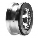 2.2 Beadlock Felgen Chrom mit Klemmring: CCR Horizon LOSA7020