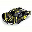 Losi Mini-Strike Karosserie, blau mit Stickern Horizon LOSB1323