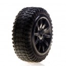 Losi Reifen/ verklebt/ Silver: Micro Rally Horizon LOSB1584