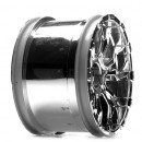 Losi 320S Force Wheel/ Chrome (2) Horizon LOSB7013