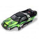 10-T Karrosse, Grün mit Aufklebern Horizon LOSB8026