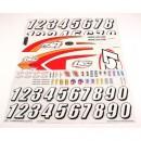Sticker Sheet: Slider Horizon LOSB8206