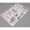 8IGHT 2.0 RTR Sticker Sheet Horizon LOSB8208