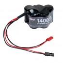 6V 1400mAh NiMH Receiver Pack Horizon LOSB9951