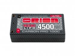 Carbon Pro LiPo 4500mAh 100C 7.4V Ultra Shorty Horizon ORI14068