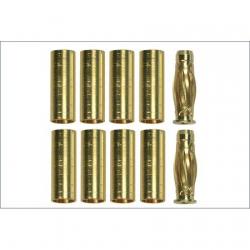 Team Orion Gold Kontakt - 2 Stecker / 10 Buchsen Horizon ORI40002