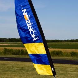 10 ft FPV Corner Gate Banner, Horizon Logo Horizon PMR10533