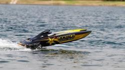 Pro Boat Rockstar 48-inch Catamaran Benzinmotor : RTR Horizon PRB09003C