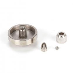 Motor Coupler,5mm Mtr x 3.7mm Flx Shft: Recoil 26 Horizon PRB286026