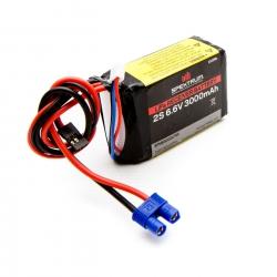Spektrum 3000mAh 2S 6,6V Li-Fe Empfängerakku Spektrum SPMB3000LFRX