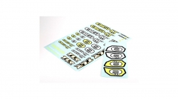 TLR8IGHT 4.0 Logo Sticker Bogen Horizon TLR249003