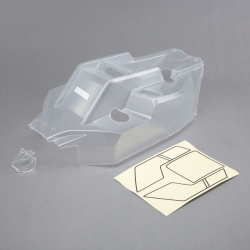 Body w/window mask, Clear: 5IVE B Horizon TLR250002