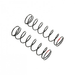 Rear Spring, 6.1 lb Rate, Red: 5IVE B Horizon TLR253007