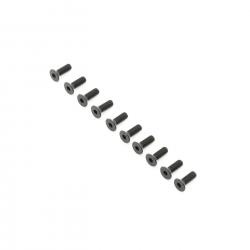 TLR Flachkopfschrauben M4x12 mm (10 Stk) Horizon TLR255013