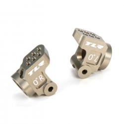 Rear Hub Set, +3mm Axle, Aluminum: 22 3.0, 22-4 Horizon TLR334037