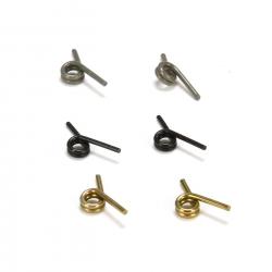 TLR Kupplungsfedersatz (je 2) schwarz, gold, grün: 8E8TE/3.0 Horizon TLR342006