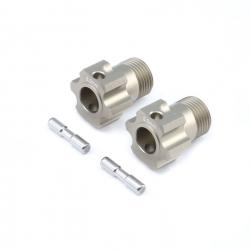 TLR Radmitnehmer m. Pin +5 mm (2 Stk): 5B, 5T, Mini WRC Horizon TLR352004