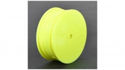 TLR Felge vorne 12 mm, gelb (2 Stk): 22 3.0 Horizon TLR43010