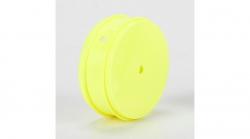 TLR Felge vorne 61 mm, gelb (2 Stk): 22 3.0 Horizon TLR43012
