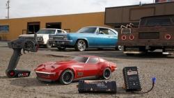 Vaterra 1969 Custom Corvette 1/10 4WD V100-S RTR Horizon VTR03022I