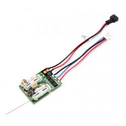 Spektrum AR6410LBL 6-Kanal Ultra Micro DSMX-Empfänger mit BL-Regler Spektrum SPMAR6410LBL