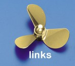 Ms-Propeller L 3-Bl. 35mm, M4 Krick 534035