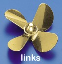 Ms-Propeller L 4-Bl. 35mm, M4 Krick 544035