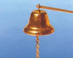 Glocke mit Klöppelkette 27 mm Krick 60113