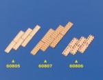 Kupferplatten 5x19mm 1:64 (100) Krick 60807