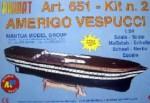 Amerigo Vespucci Baukasten 2. Schritt Krick 800651