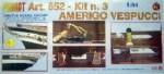 Amerigo Vespucci Baukasten 3. Schritt Krick 800652