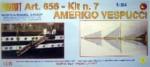 Amerigo Vespucci Baukasten 7. Schritt Krick 800656