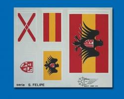 Flaggensatz San Felipe groß Krick 843893