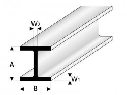ASA H-Profil 5x5x330 mm (5) Krick rb415-58-3