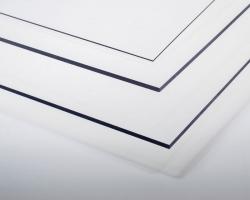 Kunststoffplatte PVC transparent 0,4x194x320 mm Krick rb602-03