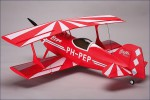 Pitts Special rot, ARF, BL, Servos Hype Kyosho 018-2000