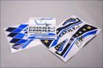 Dekorbogen U Can Fly blau Hype Kyosho 022-2101